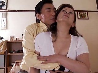 Asian,Japanese,Mature,Big Tits,Blowjob,Cumshots,Facial,Hardcore Hot mature Asian babe Chizuru Iwasaki...