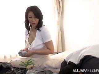 Asian,Japanese,Mature,Big Tits,Blowjob,Cumshots,Hardcore Wako Anto is a hot Asian mature babe...
