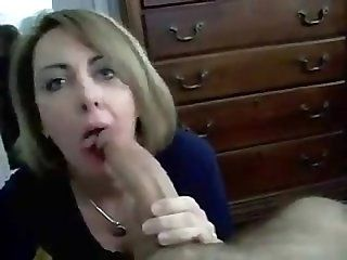 Blowjob;Mature;MILF mother's...