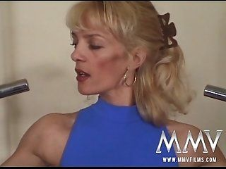 German,Big Tits,Hardcore,Blowjob,Mature,Threesomes,Anal,DP Fit and horny old cunt sits on the...