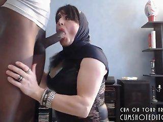 Blowjob;Amateur;Mature;MILF;HD;Arab Submissive Arab...