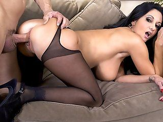 Big Tits,Blowjob,Mature,Stockings,Rimming,Shaved,Lingerie Ava Addams has a...