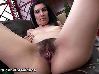 Hairy,Amateur,Brunette,Mature Alaya is a mature and beautiful raven...
