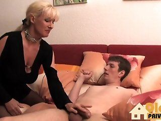 German,Mature German blonde mature