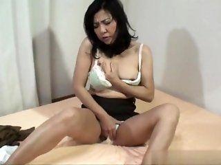 Asian;Mature;Japanese;Creampie;HD Misako Date 50 years old