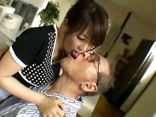 Big Tits;Group;Mature;Japanese 禁断介護...