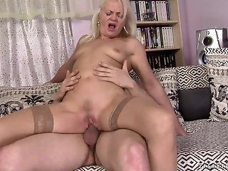 Blonde,Blowjob,Mature,Hardcore Oh, that naughty-naughty Anett! She...