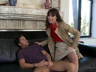 Big Tits;Blowjob;Cumshot;Mature;HD Dana DeArmond...