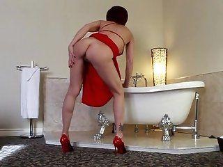 Big Tits;Mature;MILF;Masturbation;Redhead;HD Audrey, Red...