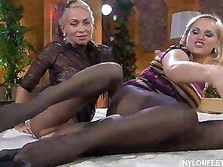 Big Tits;Lesbian;Mature;Blonde RUSSIAN MATURE...