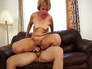 Mature;Facials;Blonde Caitlin - Man...