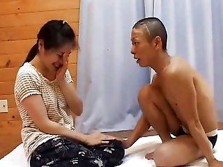 Asian;Mature;Japanese;Facials Mature in the country