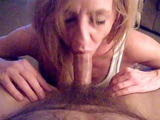 Blowjob;Mature;Redhead;HD no hand blow job 002