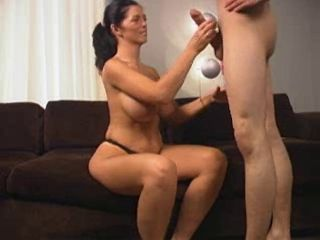 Mature,Brunette,Blowjob,Big Tits Tall black haired...