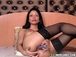 Mature;Masturbation Nice camgirl...