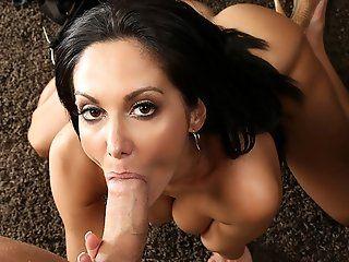 Big Butt,Big Tits,Blowjob,Cumshots,Handjobs,Mature,Shaved,Big Dick,Pornstars Ava Addams is tying desperately to...