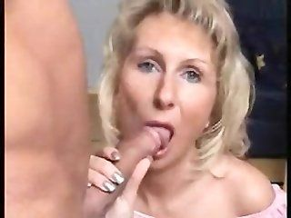 Amateur;Cumshot;Mature;Facials;MILF;Blonde mature Wife ...