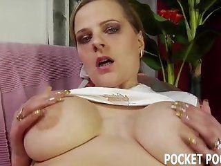 Amateur;Mature;MILF;HD 1fuckdatecom Busty milf sucking cock...