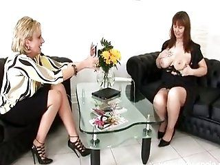 Big Tits;Lesbian;Mature;Blonde;Lingerie Lady Sonia