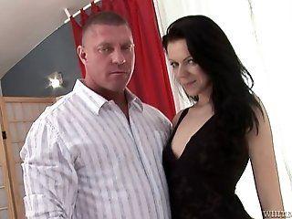 Big Tits;Blowjob;Cumshot;Mature;HD Lea Fox Rides Big Cock