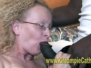 Mature;Interracial;Blonde;Creampie;HD Unwanted Creampie