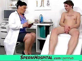 Big Tits;Cumshot;Mature;MILF Bossy milf doctor...