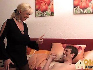 Big Tits;Amateur;Mature;MILF;Blonde;HD Fick mit meiner Tante