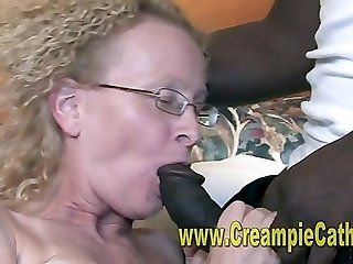Cumshot;Mature;MILF;Interracial;Blonde;Creampie Married wife...