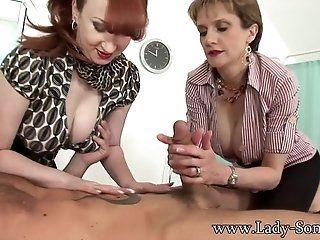 Big Tits;Cumshot;Group;Mature;MILF;Blonde;Redhead;HD MILFs Lady Sonia...