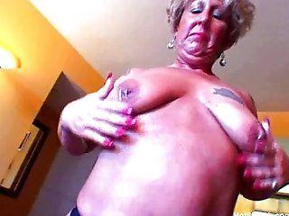 Big Tits;Mature;Masturbation;Blonde Big Ass Granny