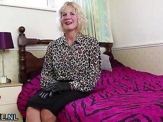 Big Tits;Amateur;Mature;Masturbation;Blonde;Lingerie Busty blonde...