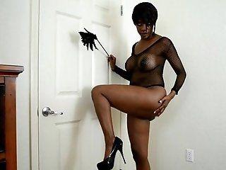 Ebony;Mature;HD Black British Buns