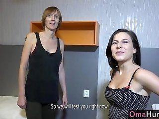 Lesbian;Mature;HD OmaHunter Tall...