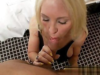 Big Tits;Mature;Facials;Blonde Natural tits hard...