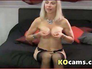Mature;MILF;Masturbation;Blonde Blonde mature...