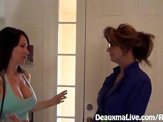 Big Tits;Lesbian;Mature;MILF;HD Milf Deauxma...