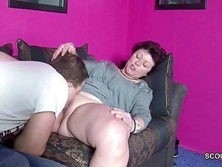 Big Tits;Cumshot;Mature;MILF;HD Son Caught...
