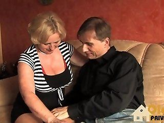 Big Tits;Mature;Blonde;HD Omi wird gefickt