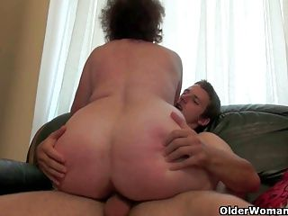 Cumshots;Grannies;Matures;MILFs;Old+Young;Chubby;Granny;Grandma;GILF;Fucking;Old;Orgasm;Couple;Mature Sex;Full Length;Chubby Granny;Older;Empty Your Balls;Empty Balls;Cum Filled;Older Woman Fun Mom will empty your cum filled balls