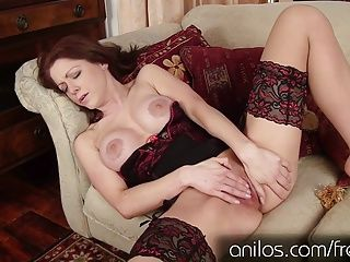 Fingering;Masturbation;Matures;HD Videos;Anilos Dont you wish your mommy was hot like...