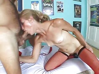 Anal;Facials;Matures;MILFs;Old+Young;Skinny;Young;Old;Skinny Mature Skinny Mature Dawndi Gets Analized