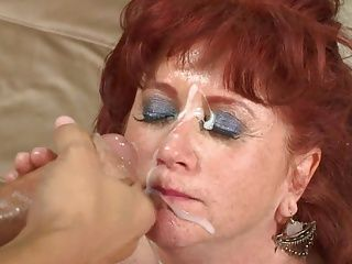 Grannies;Hairy;Matures;Old+Young;Redheads;Young Horny;Young YOUNG MEAT FOR HORNY GRANNY#9 -B$R
