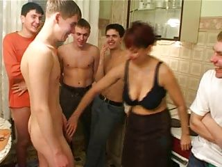 Gangbang;Matures;Old+Young;Friend's Mom;Birthday;Pussy;Pussy Licking;Pussy Fucking;Gang Bang;Family;Mother;Son;Taboo;Birthday Boy;Mom Birthday boy fucks his friend's...