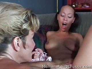 Matures;MILFs;Old+Young;Porn for Women;Kissing;Rubbing;Dildo;Vibrator;Older;Pussy Lick;Gang Bang;Mother;Mallory;First Time;First;Mommy Loves Pussy Mallory first time