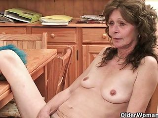 Amateur;Grannies;Hairy;Matures;MILFs;Granny;Grandma;Saggy Tits;Natural Tits;Wife;Old;Older;English;GILF;Housewife;Mother;Sandie;Small;Collection;Older Woman Fun Hairy grandma...