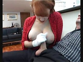 Matures;Redheads;Stockings;Redhead;Footjob;Perfect Red- Perfect...