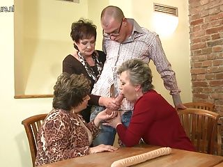 MILFs;Grannies;Matures;Group Sex;Squirting;Granny and Young;Granny Young;Granny;Young Fucked;Young;Fucked;Mature NL Granny GRANNY and granny fucked by...