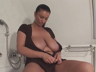 BBW;Big Boobs;Matures;MILFs;Showers;Top Rated;Dildo;Kitchen;Mother;Masturbating;Granny;Older;Posing;In Shower Huge-Boobs-Milf Dildoing and Posing...