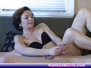 Amateur;Handjobs;Matures;Grannies;Old and Young;Granny;Tugging;Nice Handjob;Nice Granny Nice Granny...
