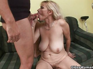 Cumshots;Grannies;Matures;MILFs;Old+Young;Granny;Mother;Big Tits;Grandma;GILF;Old;Older;Cum in Mouth;Party;Sex in Public;MILF Facial;MILF Cum;On Your Face;Your Face;Older Woman Fun Blow your load on mom's face